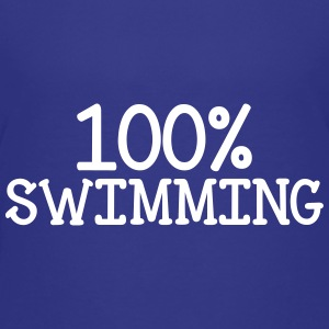 100% Swimming Shirts - Kids' Premium T-Shirt