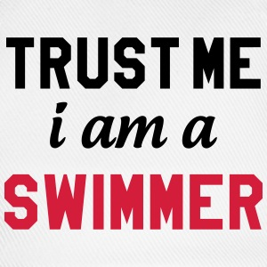 Trust me i am a Swimmer Caps & Hats - Baseball Cap