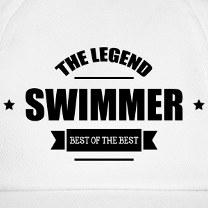 Swimmer The Legend Caps & Hats - Baseball Cap