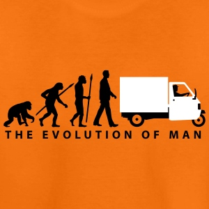evolution_of_man_Piaggio Ape_092014_b_2c T-Shirts - Teenager Premium T-Shirt