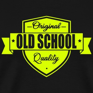 Old School T-shirts - Mannen Premium T-shirt