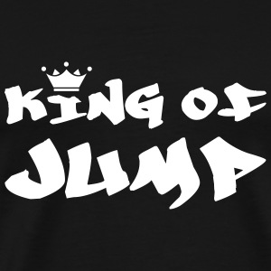King of Jump ! T-shirts - Herre premium T-shirt