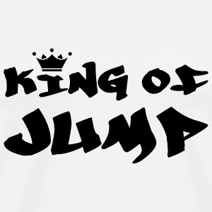 King of Jump ! T-Shirts - Männer Premium T-Shirt