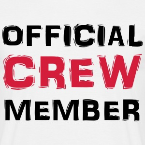 Official Crew Member T-shirts - Mannen T-shirt