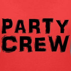 Party Crew Tee shirts - T-shirt col V Femme
