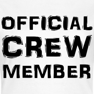 Official Crew Member T-shirts - Dame-T-shirt