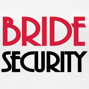 Bride Security T-shirts - Vrouwen Premium T-shirt