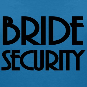 Bride Security Tee shirts - T-shirt col V Femme