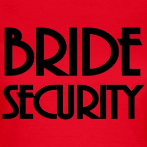 Bride Security T-shirts - Vrouwen T-shirt