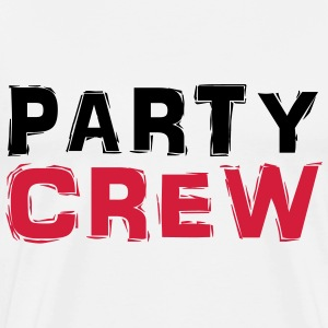 Party Crew T-skjorter - Premium T-skjorte for menn