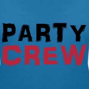 Party Crew T-shirts - Vrouwen T-shirt met V-hals