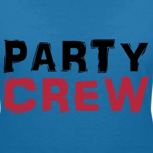 Party Crew T-Shirts - Women's V-Neck T-Shirt