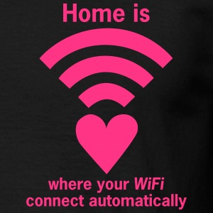 WiFi-Zone WLAN-Zone Deutschland is where your WiFi - Männer T-Shirt