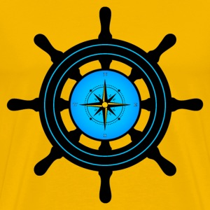 ships wheel T-Shirts - Men's Premium T-Shirt