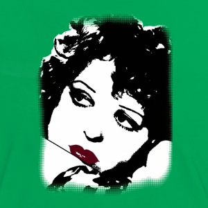Clara Bow 1920s actor T-Shirts - Women's Ringer T-Shirt