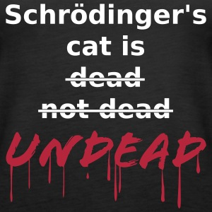 Schroedinger undead Tops - Frauen Premium Tank Top