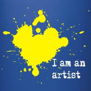 I am an artist Bottles & Mugs - Full Colour Mug