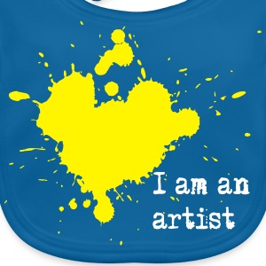 I am an artist Accessories - Baby Organic Bib