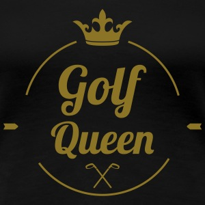 Golf Queen T-skjorter - Premium T-skjorte for kvinner