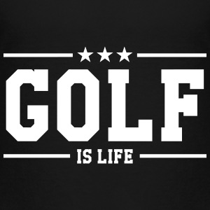 Golf is life T-shirts - Børne premium T-shirt