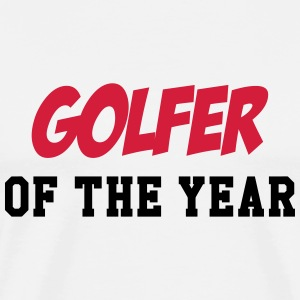 Golfer of the year Koszulki - Koszulka męska Premium