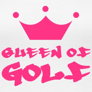 Queen of Golf T-shirts - Dame premium T-shirt