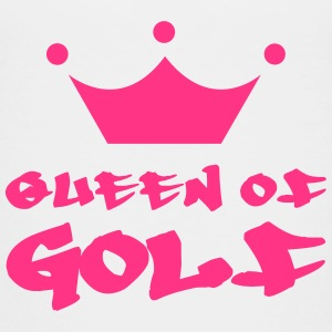 Queen of Golf Skjorter - Premium T-skjorte for barn
