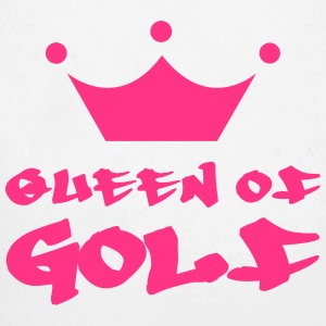 Queen of Golf Felpe - Body ecologico per neonato a manica lunga