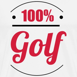 100% Golf T-skjorter - Premium T-skjorte for menn