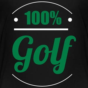 100% Golf T-shirts - Teenager premium T-shirt