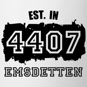 Established 4407 Emsdetten Flaschen & Tassen - Tasse