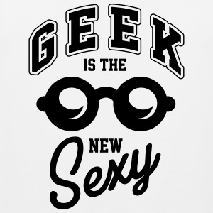 Geek is the new sexy Singlets - Premium singlet for menn