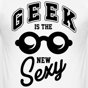 Geek is the new sexy T-shirts - Herre Slim Fit T-Shirt