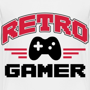 Retro Gamer Shirts - Kinderen Premium T-shirt