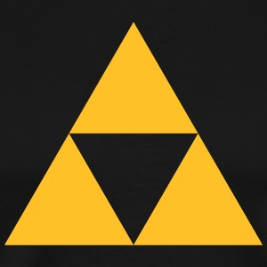Triangle, mathematics, geometry, Triforce,  T-shirts - Mannen Premium T-shirt