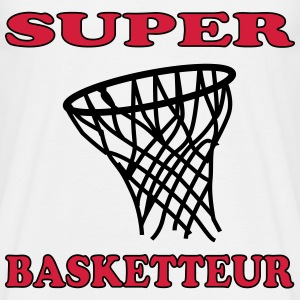 Super basketteur Tee shirts - T-shirt Homme