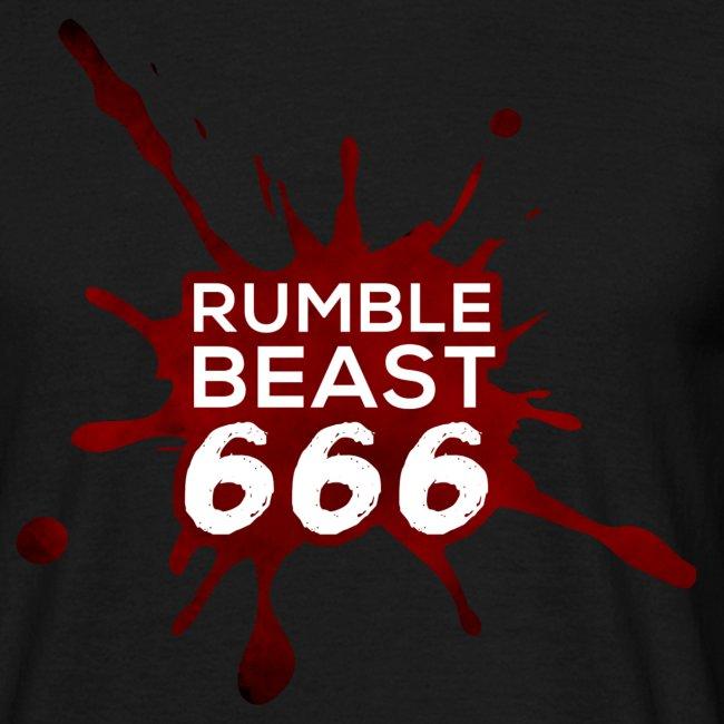 "RumbleBeast666 T-Shirt ""Come to where the Flachsinn is"" (schwarz)"