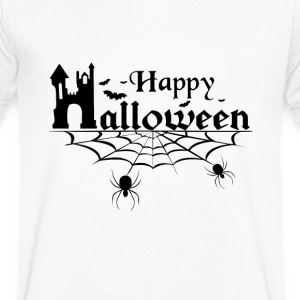 Happy Halloween T-Shirts - Men's V-Neck T-Shirt