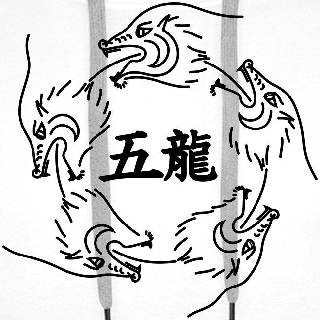 Hoodie Dragons groß