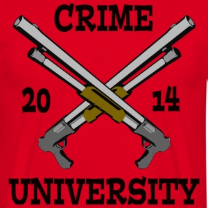 Crime University 2014 T-Shirts - Männer T-Shirt
