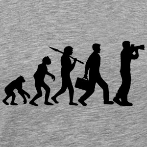 Evolution appareil photo photographe Tee shirts - T-shirt Premium Homme
