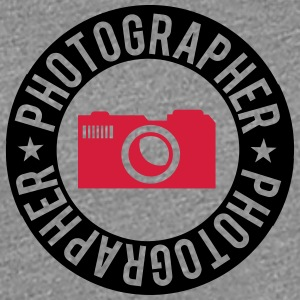 Photographer Ring Round Design T-Shirts - Women's Premium T-Shirt