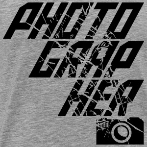 Cool Text Design Photographer T-Shirts - Men's Premium T-Shirt
