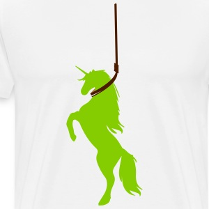 Depressed Unicorn T-Shirts - Men's Premium T-Shirt