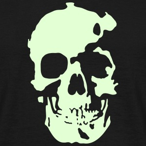 Skull for Black Shirts T-Shirts - Männer T-Shirt