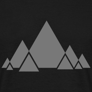 Triangle Style T-shirts - Mannen T-shirt