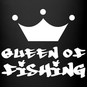Queen of Fishing Flasker & krus - Ensfarvet krus