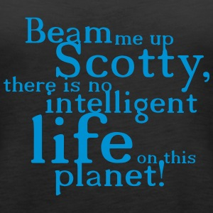 beam me up scotty Tops - Frauen Premium Tank Top