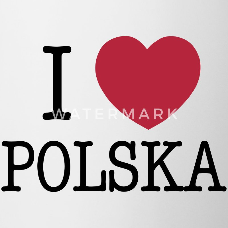 I LOVE POLAND Mugs & Drinkware - Mug