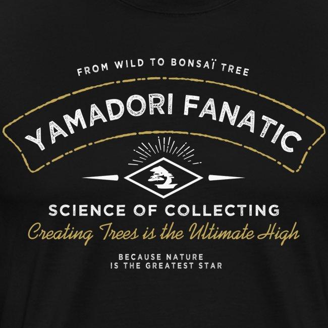 T-Shirt homme Yamadori Fanatic Blanc+or